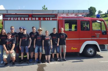 Erfolgreiche Wettkampfgruppen beim Kreisfeuerwehrtag in Mühlingen