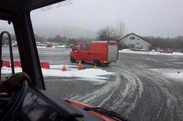 Fahrsicherheitstraining für Feuerwehrfahrzeuge