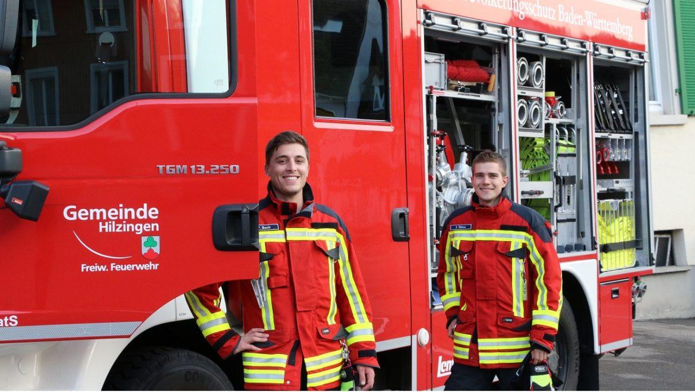 Hilzinger Feuerwehrauto in Stockach