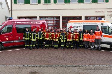 Sanitätsdienstausbildung bei der Feuerwehr