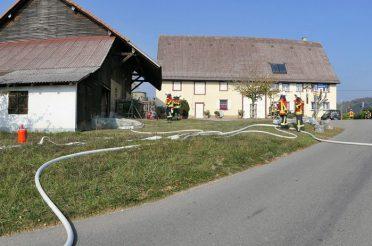 Jahreshauptübung der Abteilungen Zizenhausen und Hoppetenzell