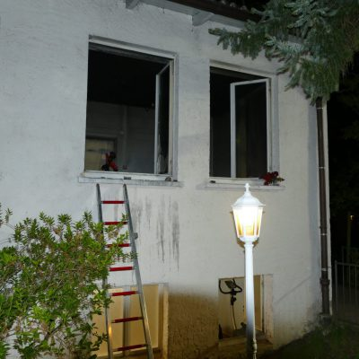 Der betroffene Raum. Bild: Feuerwehr Stockach