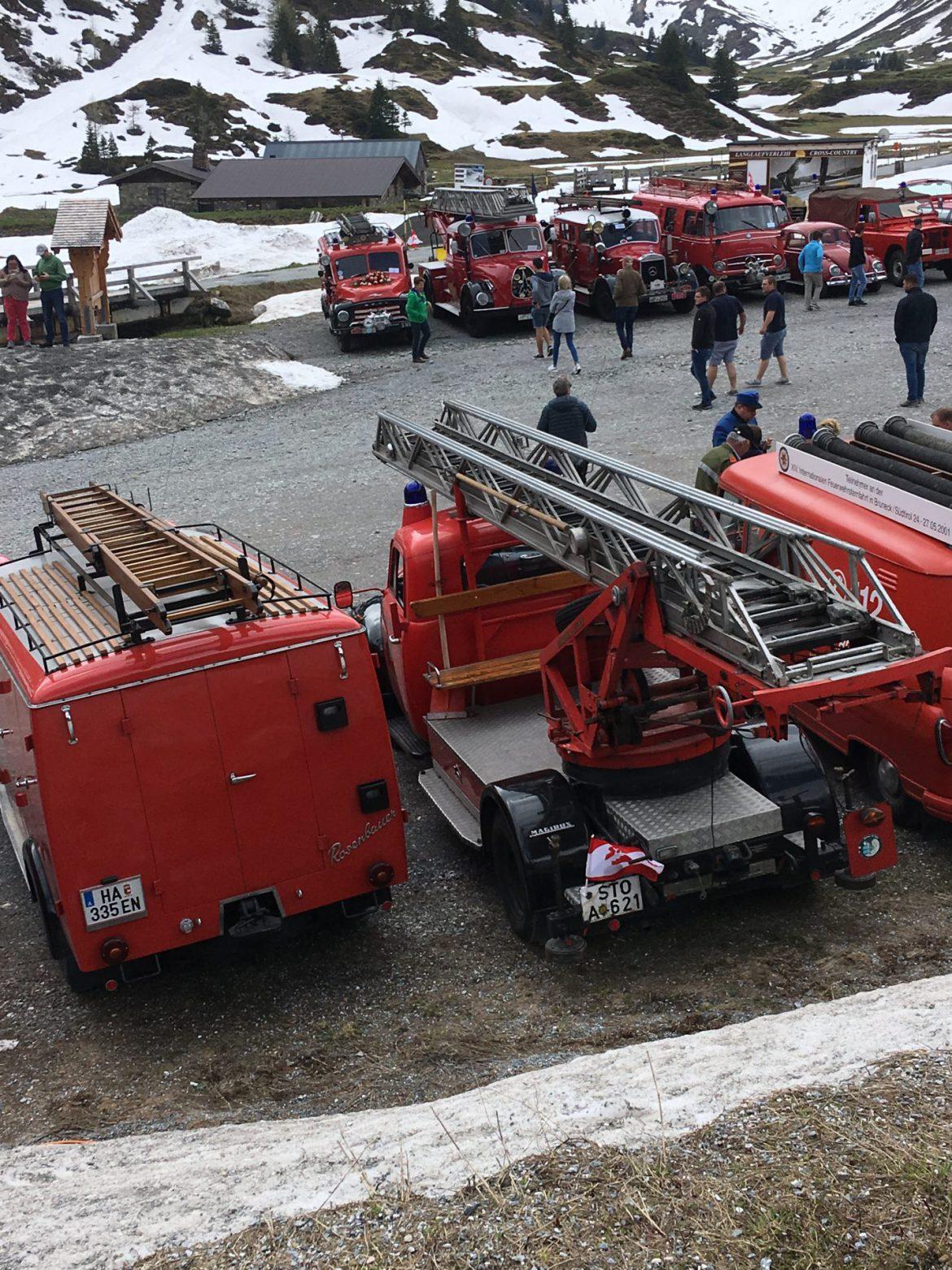 Ein Oldie auf großer Fahrt – Internationale Feuerwehr-Sternfahrt in Dorfgastein