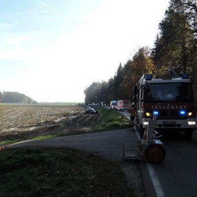 Bild vom Einsatzort von der Feuerwehr Stockach