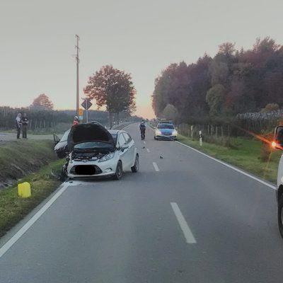 Bild der Unfallstelle Foto: Feuerwehr Stockach