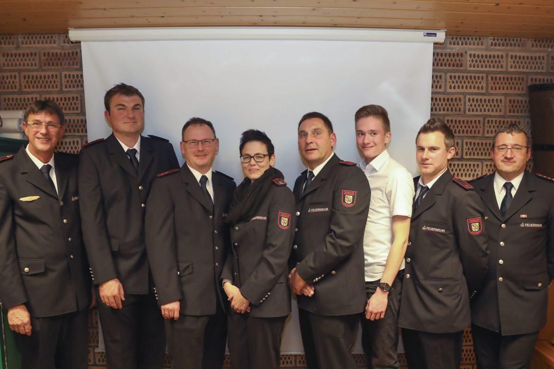 Jahreshauptversammlung der Freiwilligen Feuerwehr Stockach Abt. Raithaslach