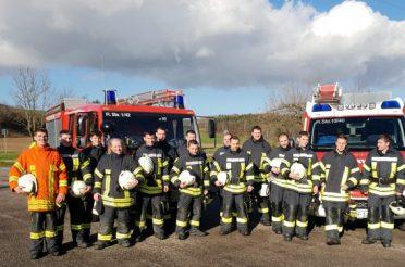Truppmann- und Truppführerausbildung bei der Feuerwehr Stockach