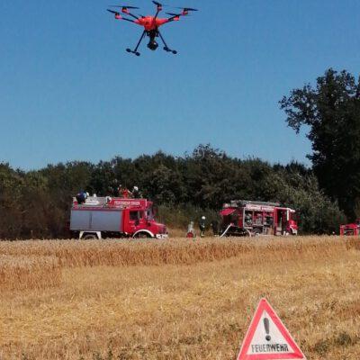 Drohneneinsatz Bild: Feuerwehr Eigeltingen