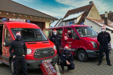 Weihnachtsgrüße der Feuerwehr Stockach
