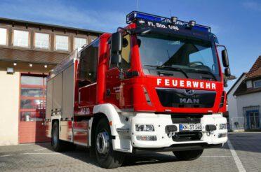 Neues HLF 20 der Feuerwehr Stockach für die Sicherheit der Stadt Stockach