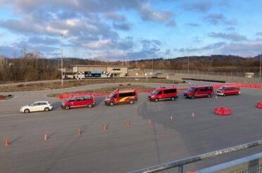Fahrsicherheitstraining für Jugendleiter