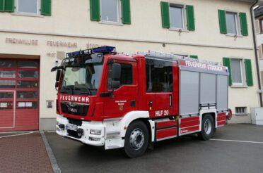 Indienststellung HLF 20 Feuerwehr Stockach Abt. Kernstadt