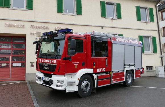 Bild: neues HLF der Feuerwehr Stockach