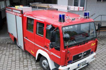 Löschgruppenfahrzeug LF8/6 für die Abteilung Winterspüren in Dienst gestellt