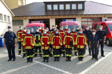 Neue Atemschutzträger für die Feuerwehr