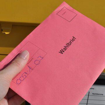 Ergebnisse der Briefwahlen Gesamtwehr und Abt. Wahlwies