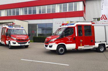 Baufortschritt Hoppetenzell / Auslieferung MLF