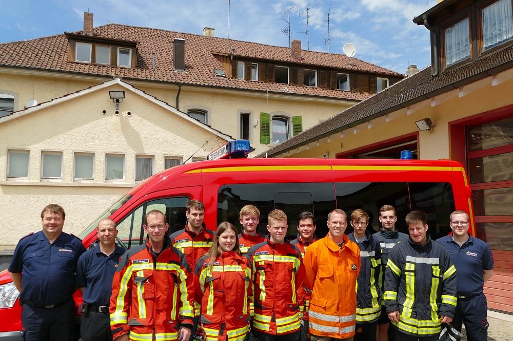 Atemschutzgeräteträger-Lehrgang der Feuerwehr Stockach