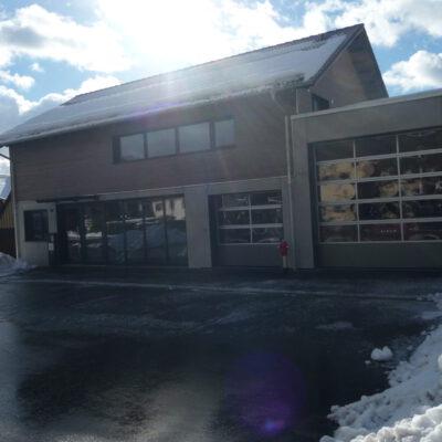 Das neue Feuerwehr-Gerätehaus